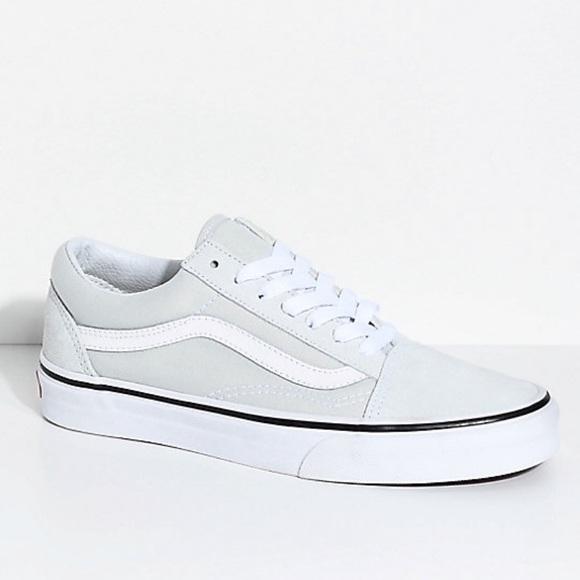 7d072b8b2a516b Vans old skool ice light blue suede sneaker shoes. NWT